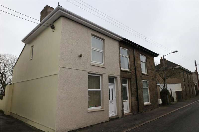 2 Bedrooms Semi Detached House for sale in Fore Street, Beacon, Camborne