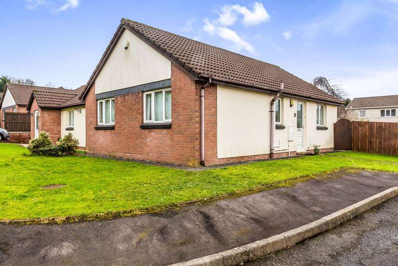 2 Bedrooms Semi Detached Bungalow for sale in Lliw Valley Close, Gowerton, SWANSEA