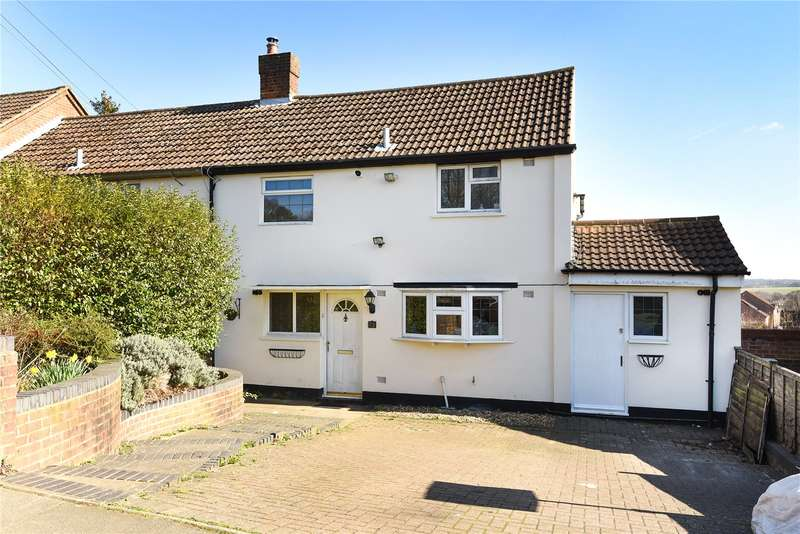 4 Bedrooms Semi Detached House for sale in Chiltern Drive, Mill End, Hertfordshire, WD3