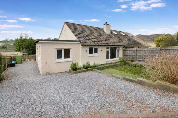 3 Bedrooms Semi Detached Bungalow for sale in Manor Road, Abbotskerswell, Newton Abbot, Devon