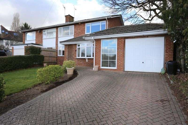 3 Bedrooms Semi Detached House for sale in Rivermead Road, Woodley