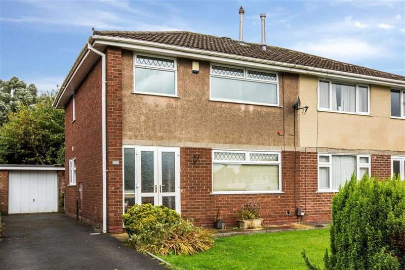 3 Bedrooms Semi Detached House for sale in Wyre Drive, Worsley, Manchester, M28 1HN