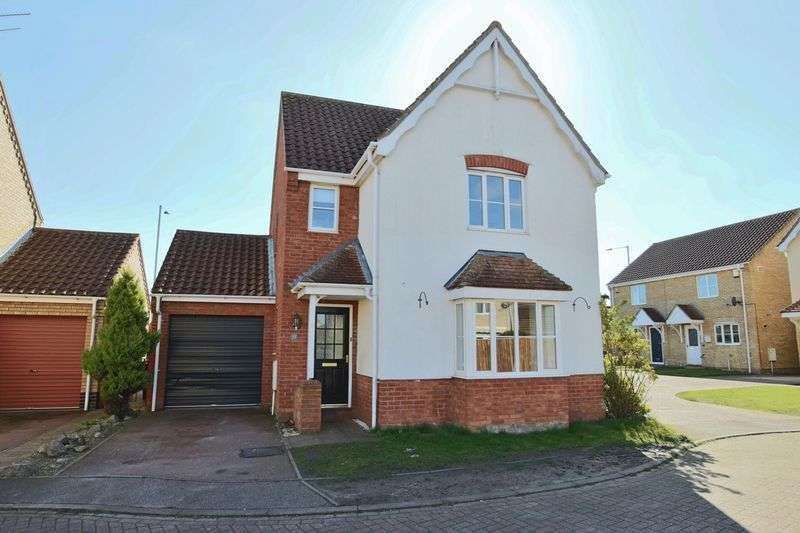 3 Bedrooms House for sale in Galley Close, Lowestoft