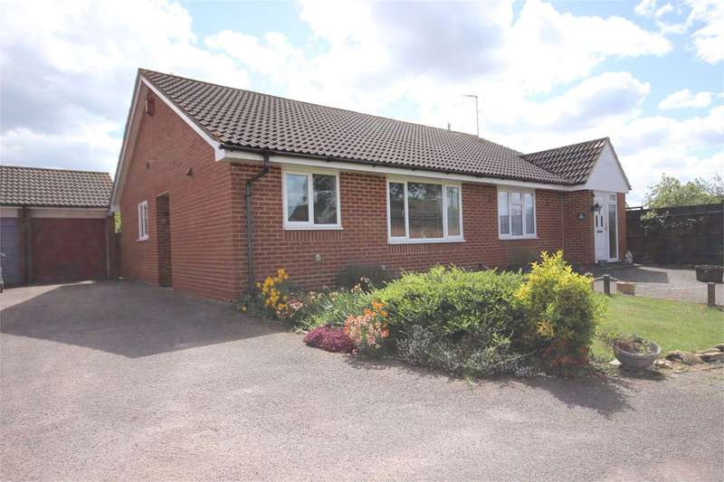 2 Bedrooms Semi Detached Bungalow for sale in Crancott Close, Houghton Conquest, MK45