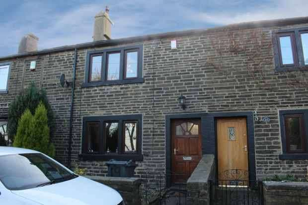 2 Bedrooms Terraced House for sale in Upper Lane, Halifax, West Yorkshire, HX3 7EE