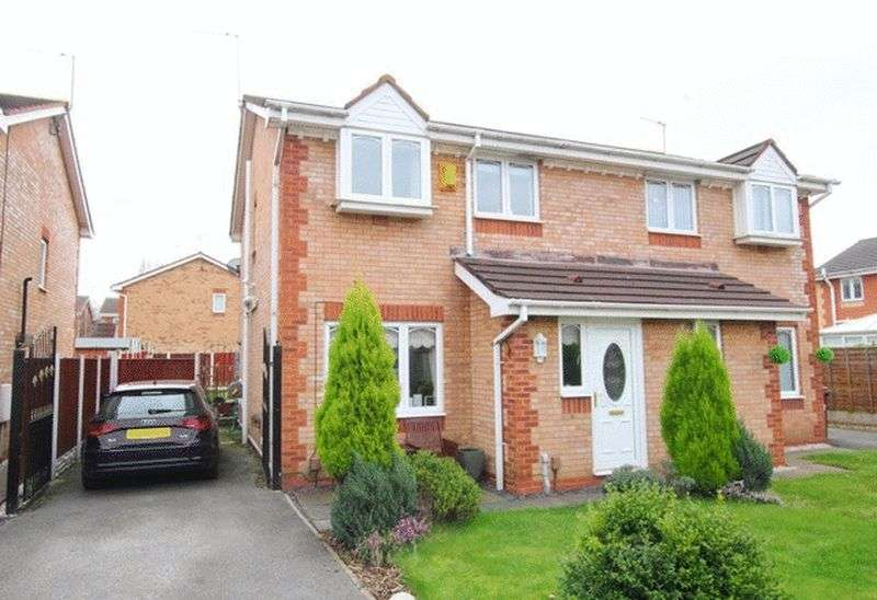 3 Bedrooms Semi Detached House for sale in St Lukes Way, Huyton, Liverpool, L36