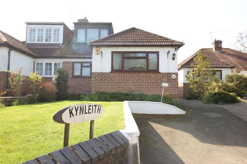 5 Bedrooms Semi Detached Bungalow for sale in Kynleith Cray Road, Crockenhill, Swanley, BR8