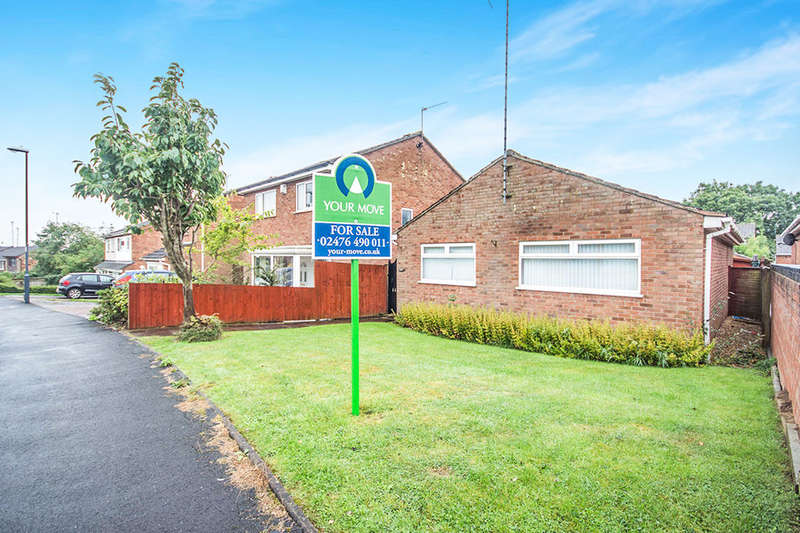 2 Bedrooms Detached Bungalow for sale in Tresillian Road, Exhall, Coventry, CV7
