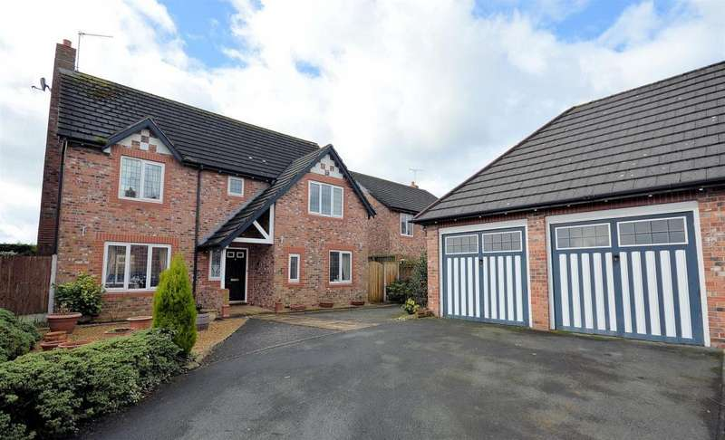 4 Bedrooms Detached House for sale in Villa farm, Arclid