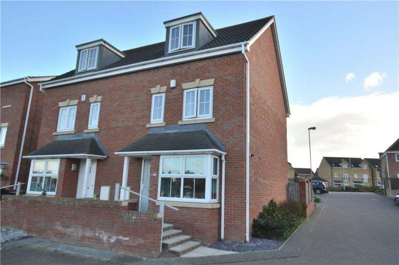 4 Bedrooms Semi Detached House for sale in Heather Court, Castleford, West Yorkshire