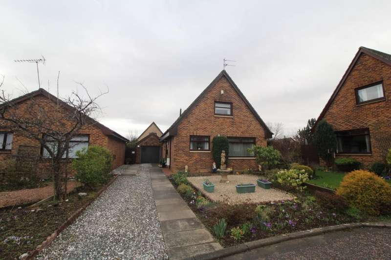 3 Bedrooms Detached House for sale in Kirkfield East, Livingston Village, Livingston, EH54