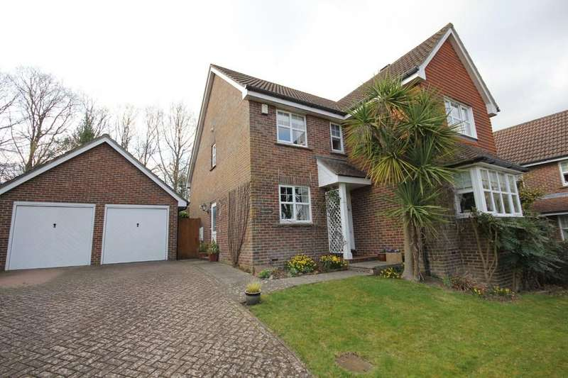 4 Bedrooms Detached House for sale in Pellilngs Farm, Crowborough