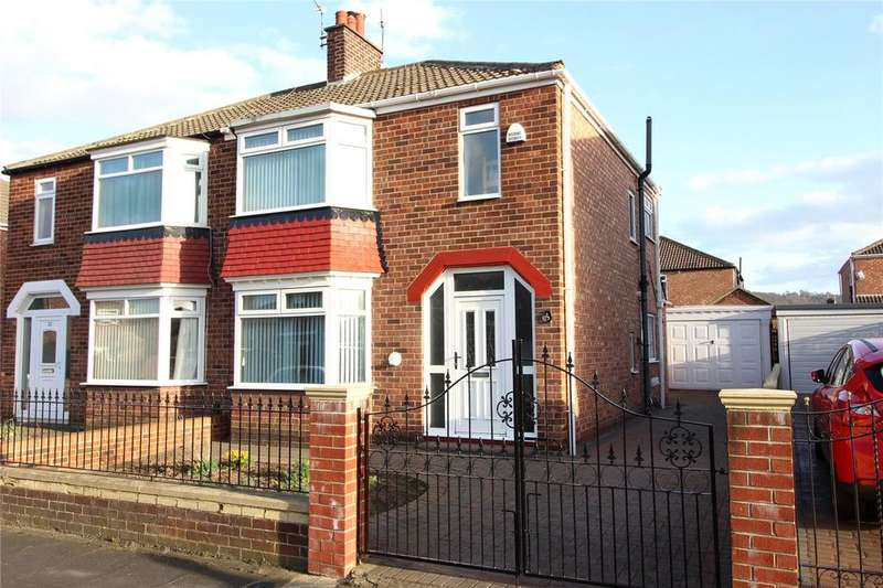 3 Bedrooms Semi Detached House for sale in Craigearn Road, Middlesbrough