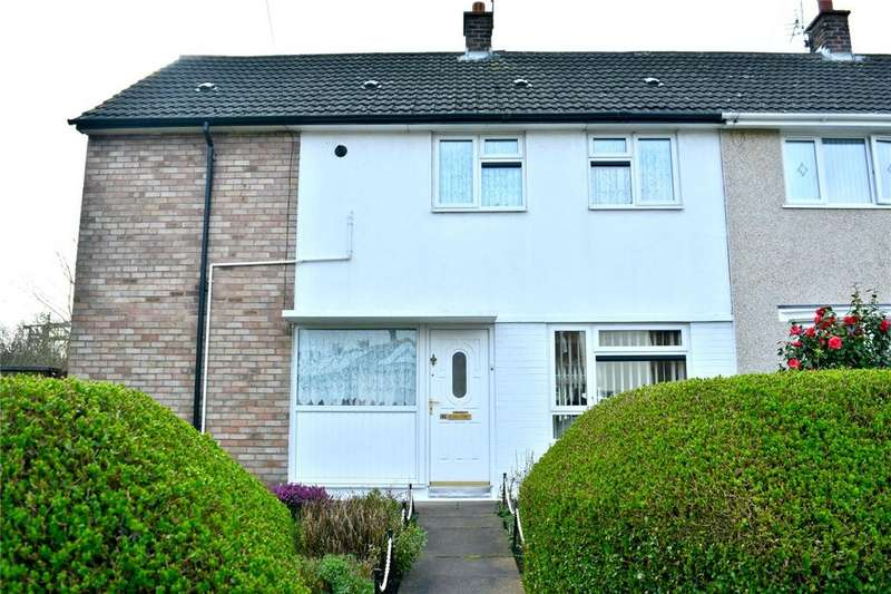 4 Bedrooms End Of Terrace House for sale in Holland Road, Halewood, Liverpool, Merseyside, L26