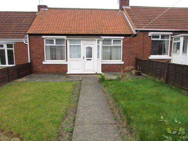 2 Bedrooms Terraced Bungalow for sale in EXETER AVENUE, SEAHAM, SEAHAM DISTRICT