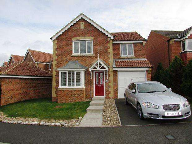 4 Bedrooms Detached House for sale in ASPEN GROVE, SEAHAM, SEAHAM DISTRICT