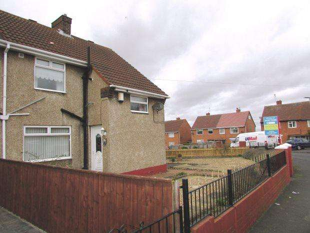2 Bedrooms Semi Detached House for sale in WINDSOR ROAD, SEAHAM, SEAHAM DISTRICT