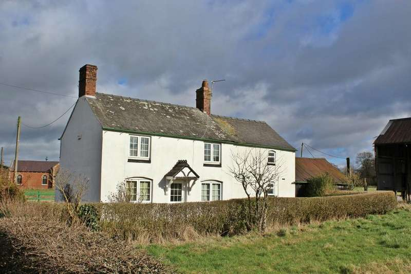 2 Bedrooms Detached House for sale in Welsh End, Whixall, Whitchurch