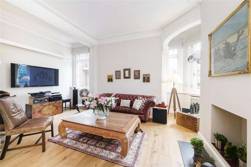3 Bedrooms Flat for sale in Phoenix Lodge Mansions, Brook Green, London, W6