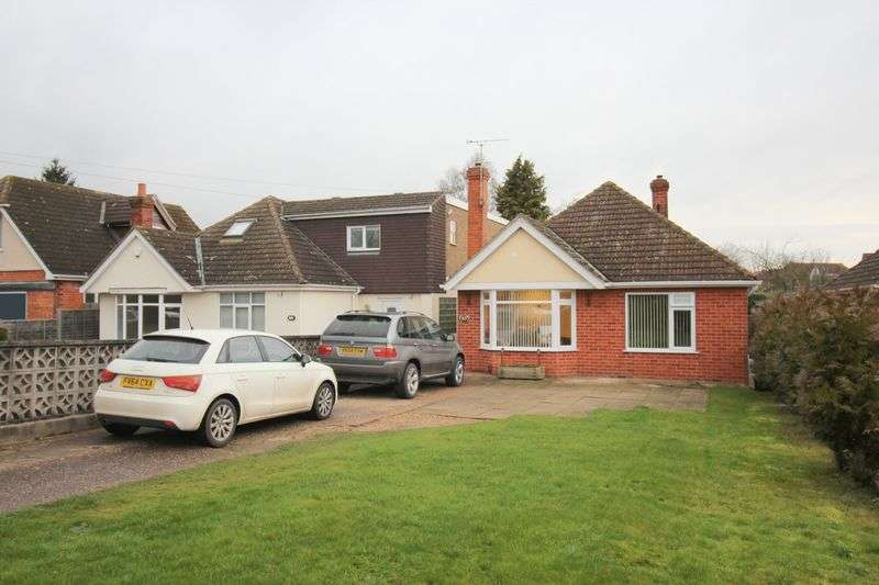 2 Bedrooms Detached Bungalow for sale in Bunkers Hill, Lincoln