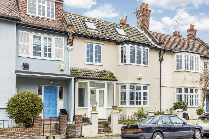 4 Bedrooms Terraced House for sale in Clavering Avenue, Barnes, London, SW13