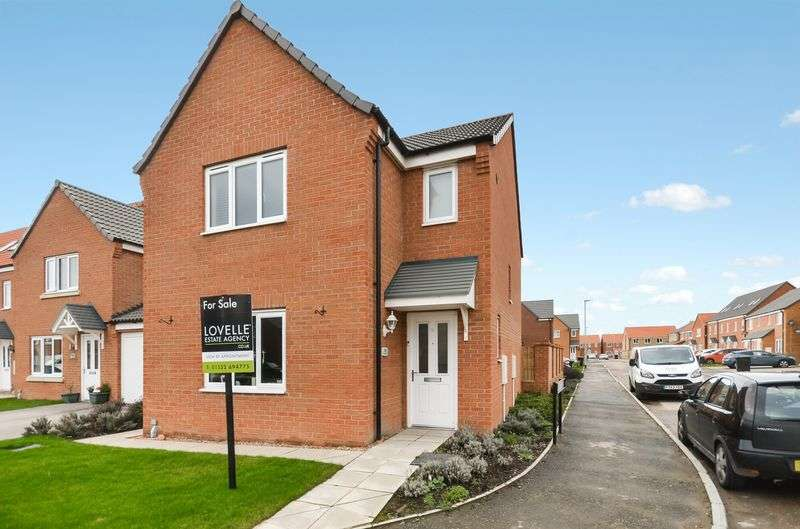 3 Bedrooms Detached House for sale in 102 Ferrous Way, North Hykeham, Lincoln, LN6 9ZN