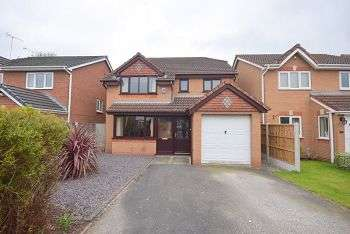 4 Bedrooms Detached House for sale in Normandy Road HILTON DE65 5GW