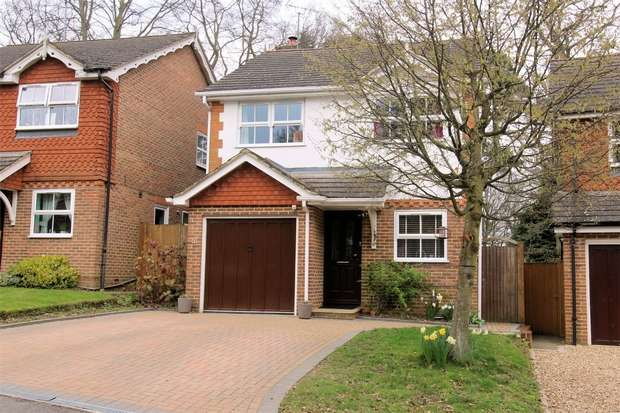3 Bedrooms Detached House for sale in St Johns, Woking, Surrey