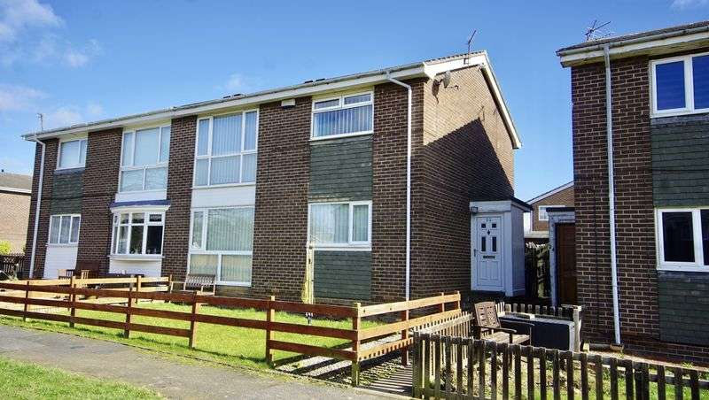 2 Bedrooms Flat for sale in CULLODEN WALK Killingworth