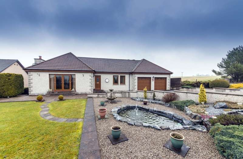 3 Bedrooms Bungalow for sale in Aultmore, Keith, Moray, AB55 6QY
