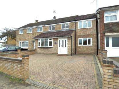 4 Bedrooms Semi Detached House for sale in Westminster Drive, Bletchley, Milton Keynes, Buckinghamshire