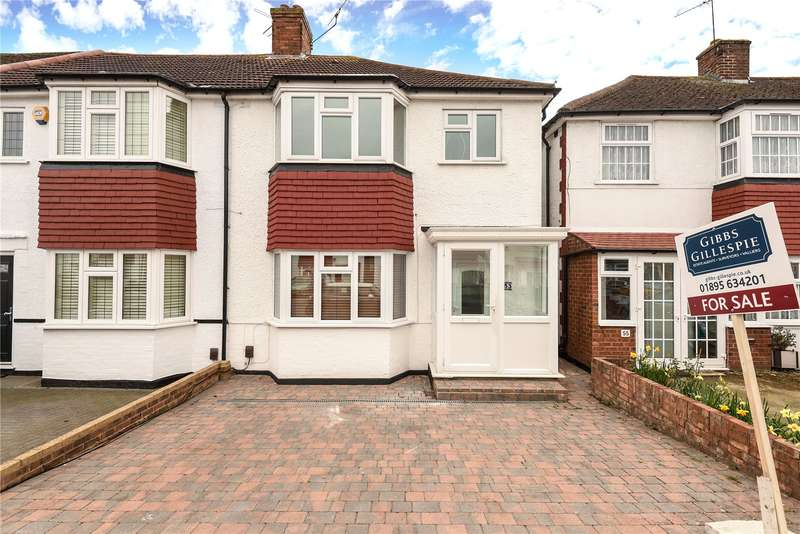 3 Bedrooms End Of Terrace House for sale in Bedford Road, Ruislip Gardens, Middlesex, HA4