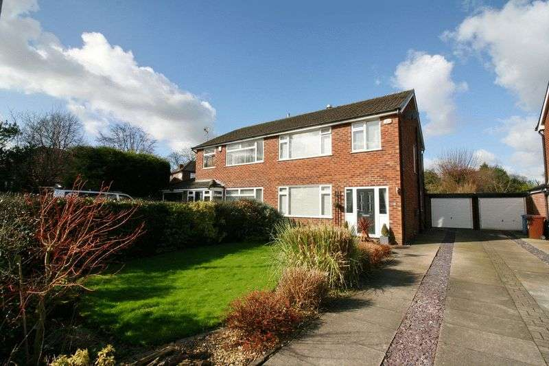 3 Bedrooms Semi Detached House for sale in Rands Clough Drive, Boothstown Worsley Manchester