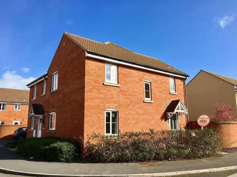 3 Bedrooms Semi Detached House for sale in Hayward Avenue, West Wick, Weston-super-Mare