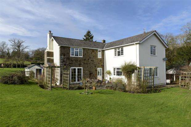 4 Bedrooms Detached House for sale in Llanerch Farm, Hyssington, Montgomery, Powys