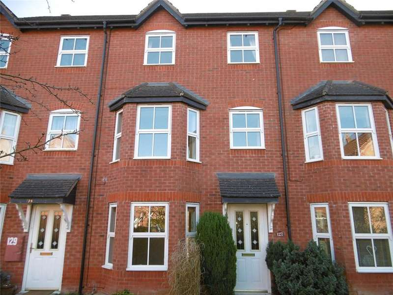 3 Bedrooms Terraced House for sale in Dahn Drive, Ludlow, Shropshire