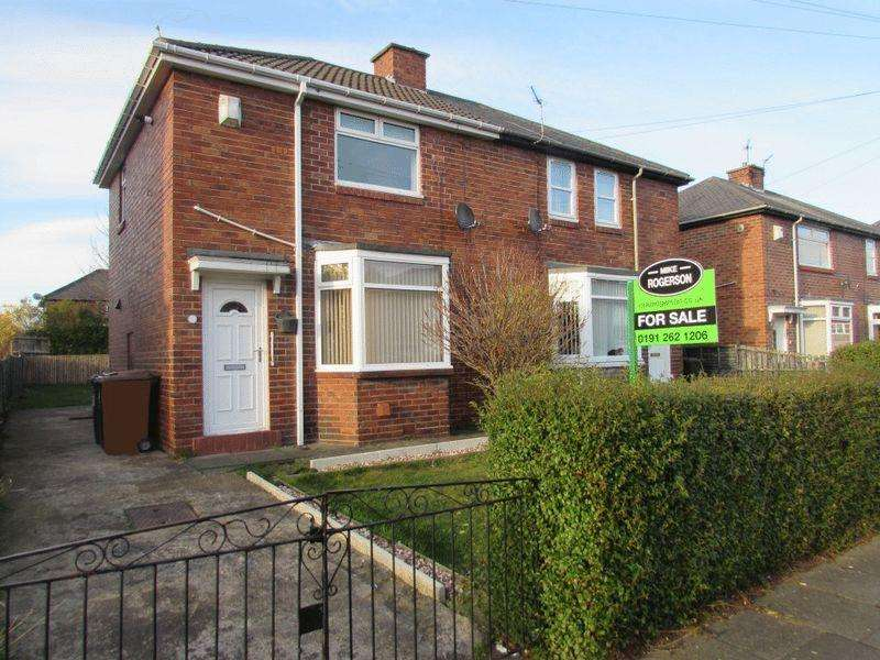 2 Bedrooms Semi Detached House for sale in Bigges Gardens, Wallsend - Two Bedroom Semi Detached House