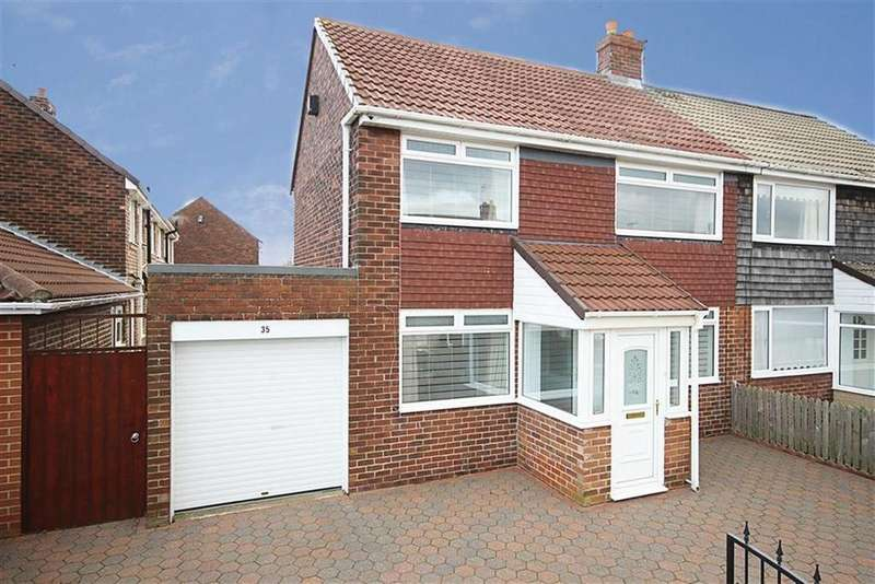 3 Bedrooms Semi Detached House for sale in Capulet Grove, South Shields, Tyne And Wear
