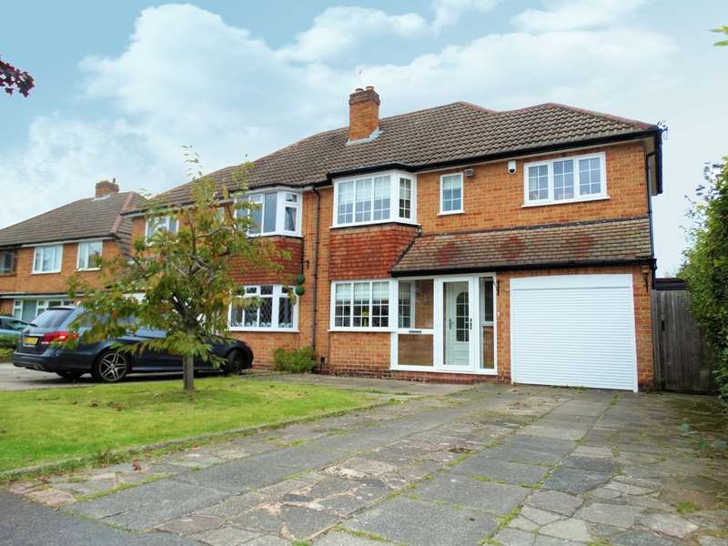 3 Bedrooms Semi Detached House for sale in Kingslea Road, Solihull
