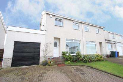 3 Bedrooms Semi Detached House for sale in Darnley Drive, Kilmarnock, East Ayrshire