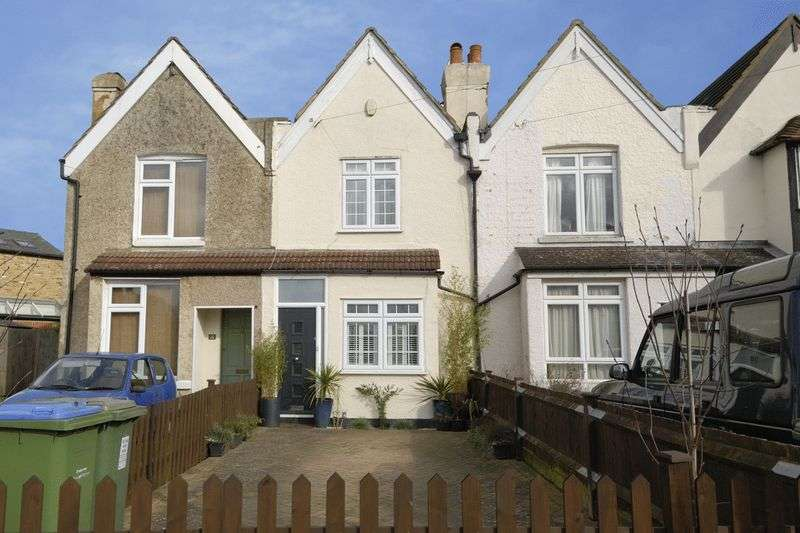 2 Bedrooms Terraced House for sale in Priory Lane, West Molesey