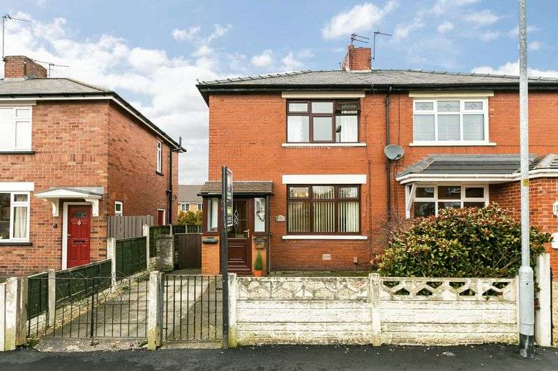 2 Bedrooms Semi Detached House for sale in Crawford Avenue, Aspull, WN2 1SE