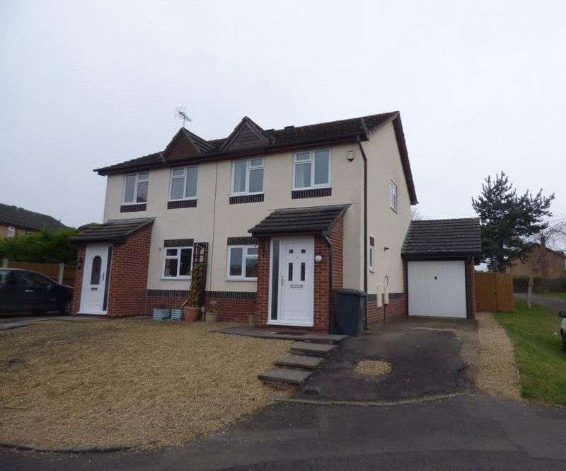 3 Bedrooms Semi Detached House for sale in Cotton Close, Abbeymead, Gloucester