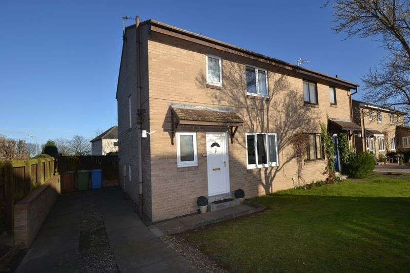 3 Bedrooms Semi Detached House for sale in West Close, Morpeth