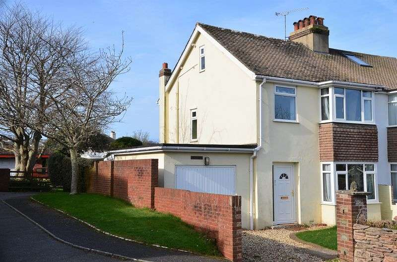3 Bedrooms Semi Detached House for sale in CUDHILL ROAD, BRIXHAM