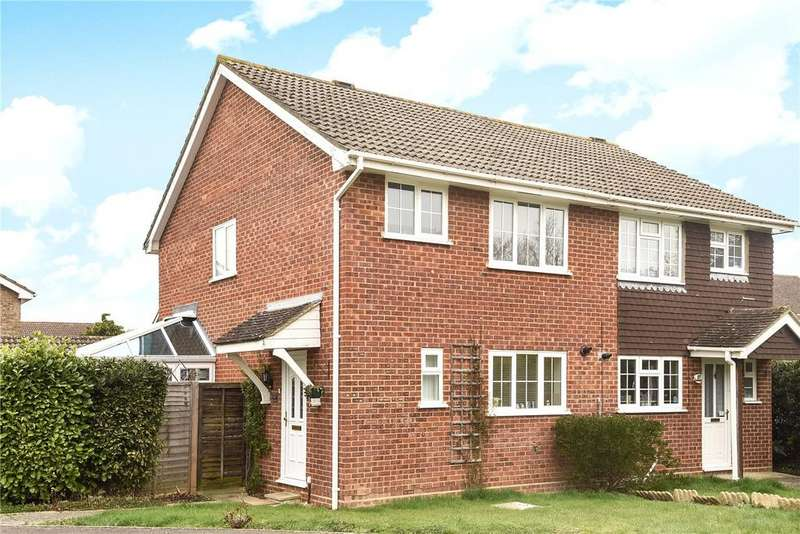 3 Bedrooms Semi Detached House for sale in Tangway, Chineham, Basingstoke, RG24