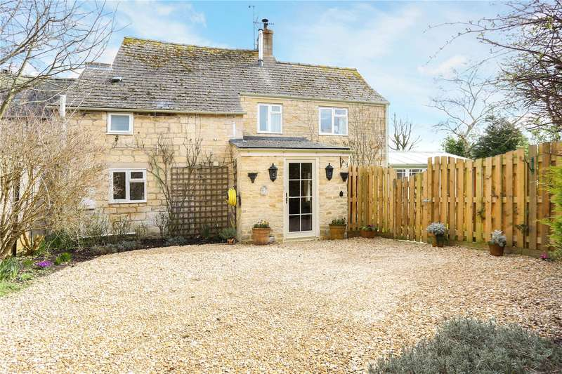 3 Bedrooms Semi Detached House for sale in Court Cottages, Butt Green, Painswick, Stroud, GL6