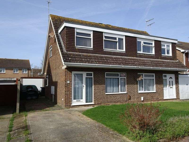 3 Bedrooms Semi Detached House for sale in Halifax Drive, Worthing
