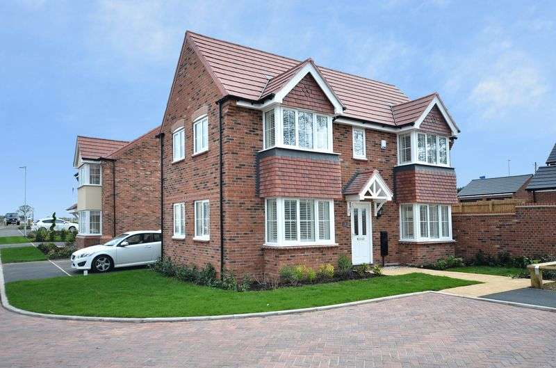 3 Bedrooms Detached House for sale in 3 Farrier Gardens, Sancerre Grange, Eccleshall