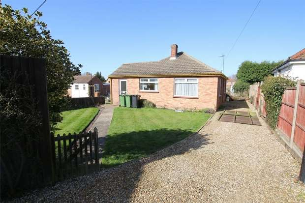 2 Bedrooms Detached Bungalow for sale in Alvida, Driftway, Wootton Road